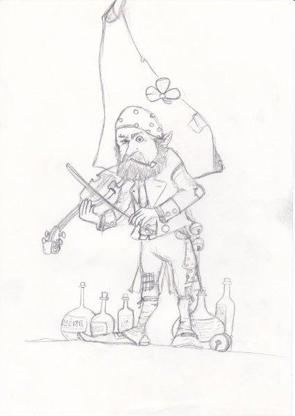 Korrigan Violoniste dans dessins korrigan-violoniste-